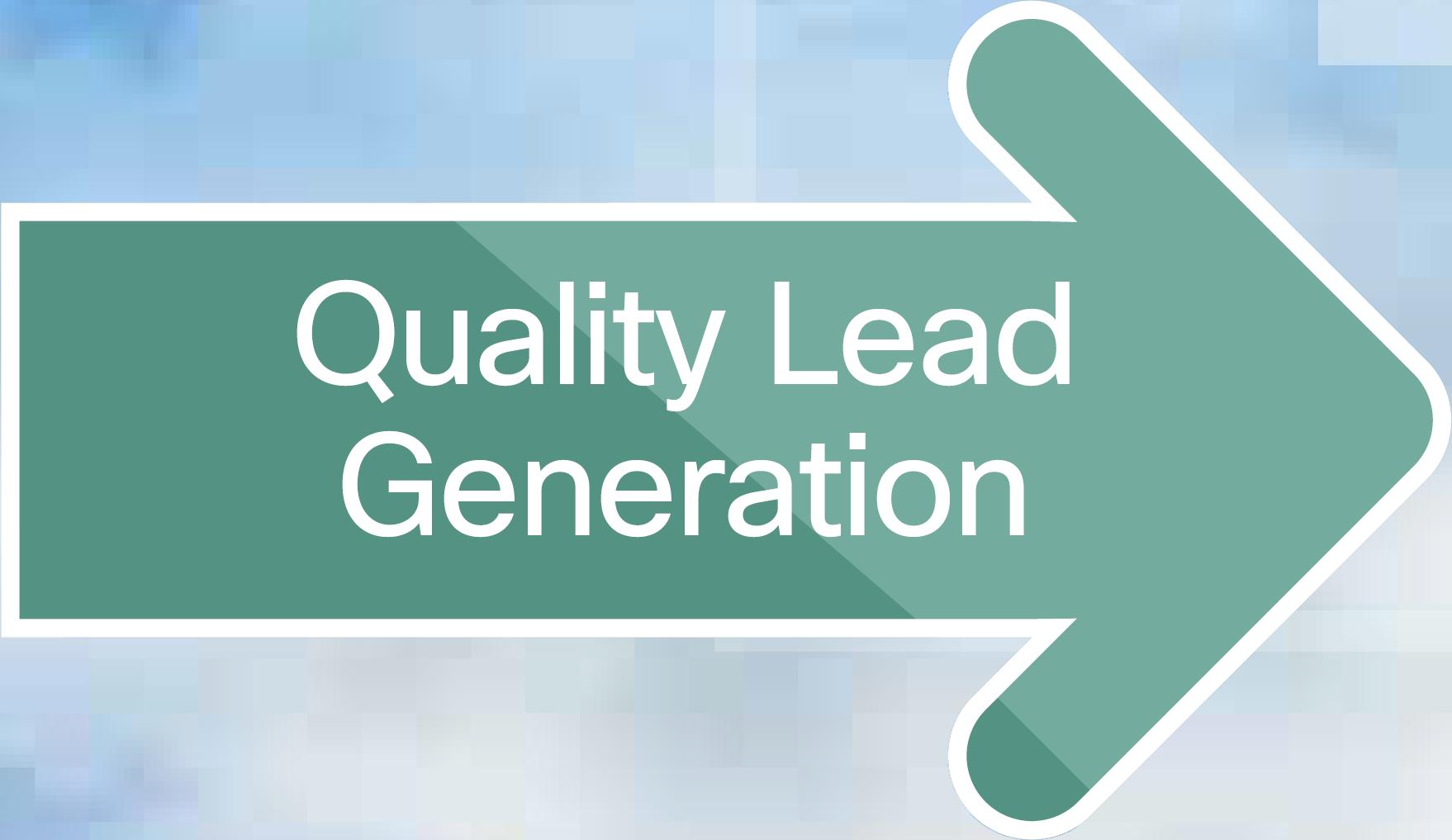 Quality Lead Generation