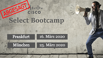 CISCO SELECT BOOTCAMP IN FRANKFURT Featured Image