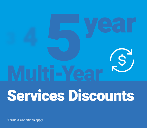 5-Year Multi-Year Services Promotion Featured Image