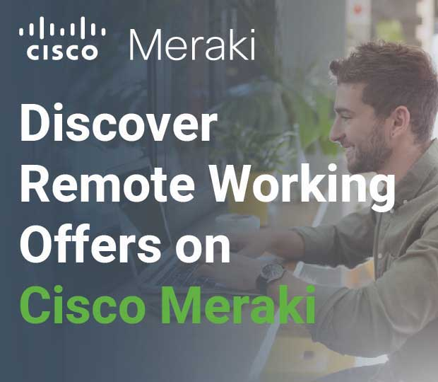 Meraki Remote Work Offers Featured Image