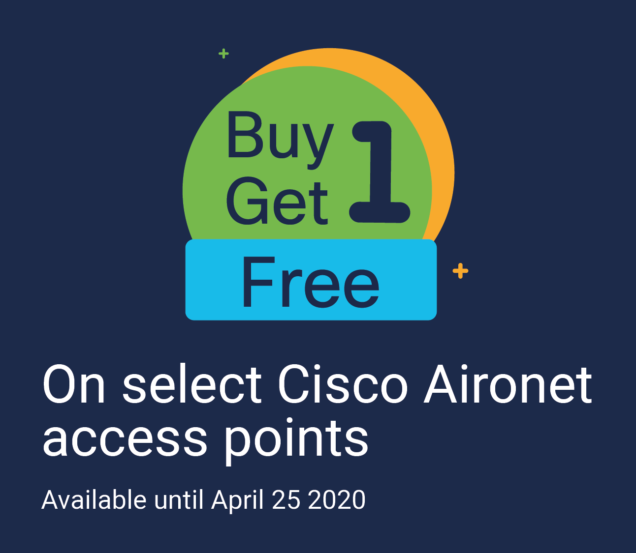 Buy One Get One with Cisco Aironet Featured Image