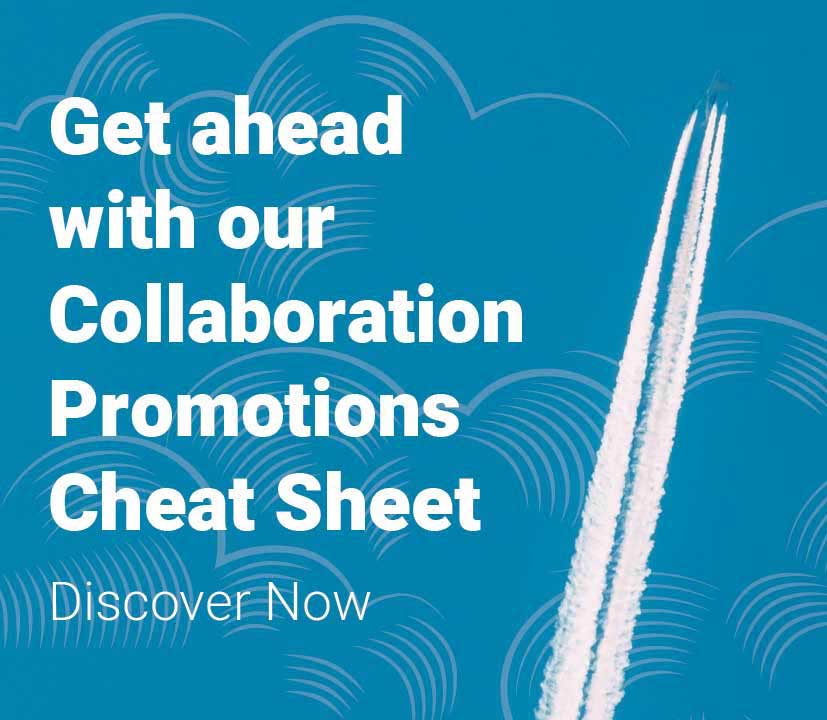 Collaborations Promotions Cheat Sheet Featured Image