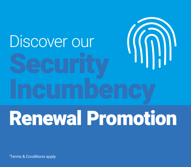 Security Incumbency Renewal Promotion Featured Image